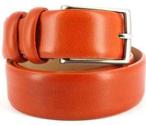 ceinture-cuir-orange